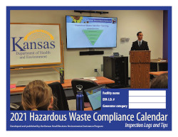 Image of Kansas's Compliance Calendar for Hazardous Waste