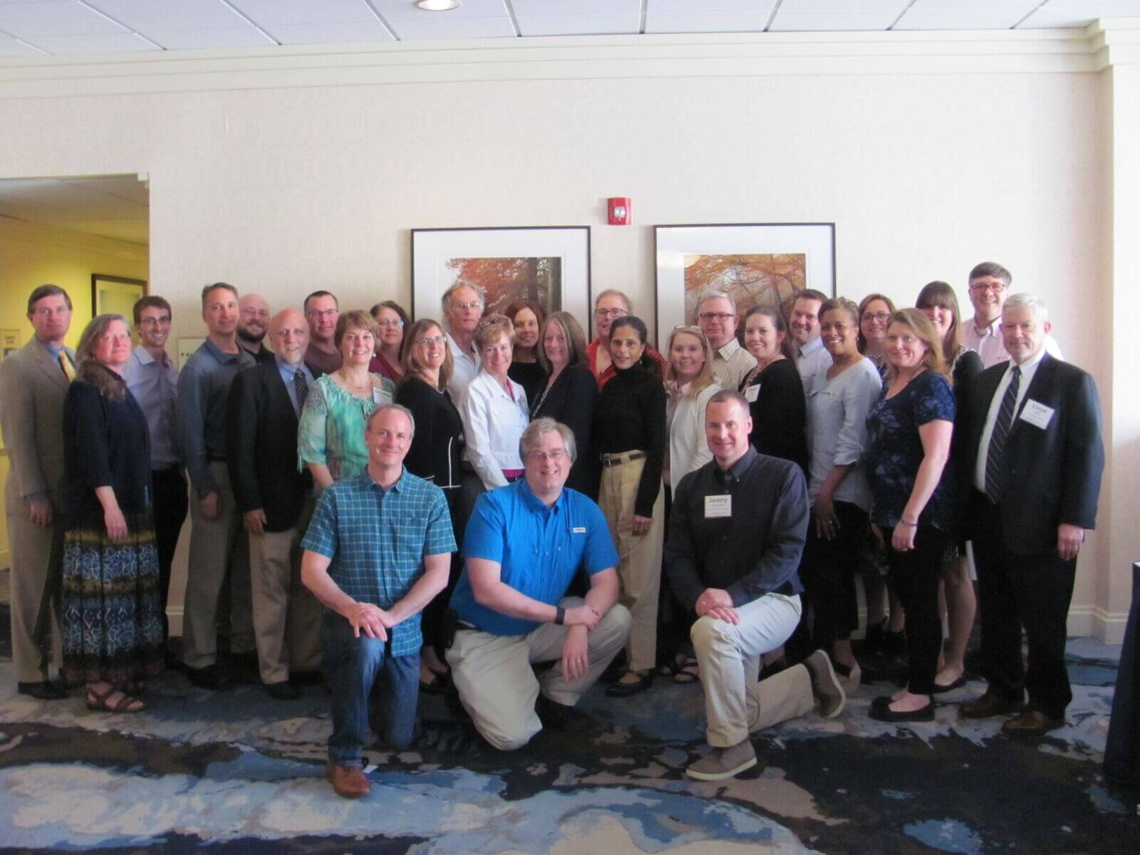 Group photo of conference attendees.
