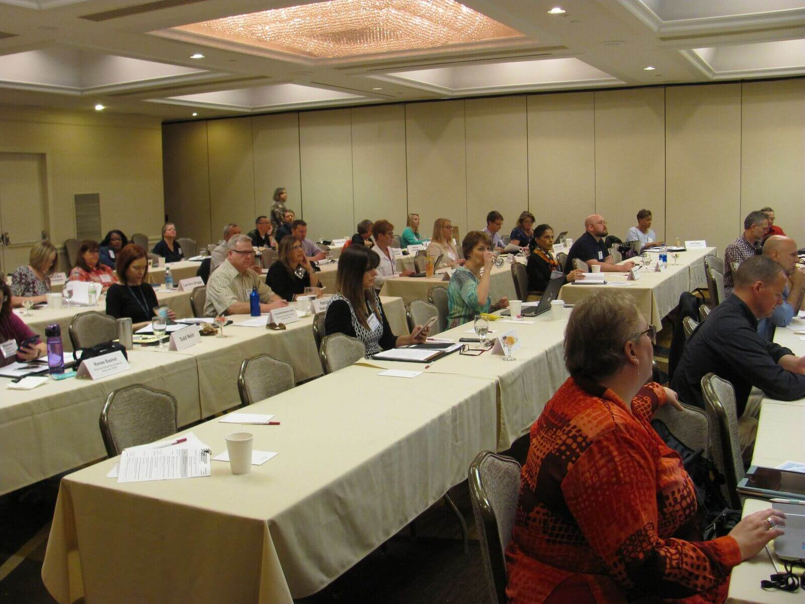 Image of conference attendees.